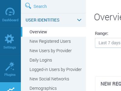 Webapp Dashboard ui ux web app flat icons navigation dashboard