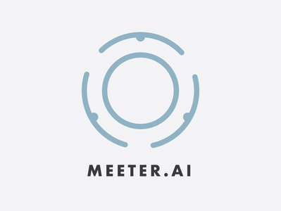 Meeter.AI Logo Design
