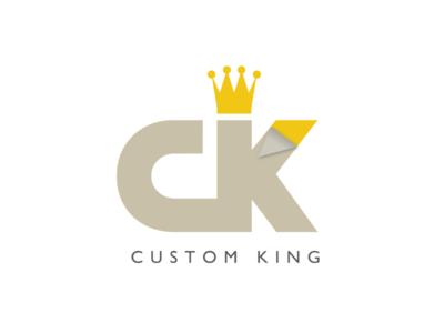 Custom King Logo Concept