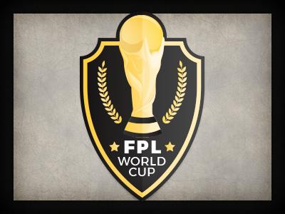 FPL World Cup logo design qchar design branding