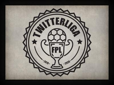 Twitterliga 2 logo branding logo design