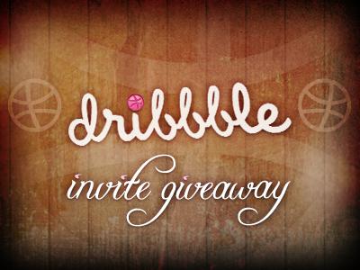 Dribbble Invite Giveaway dribbble invite giveaway