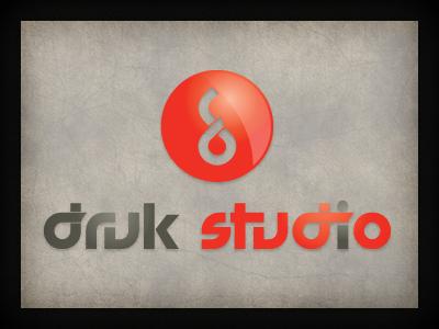 Druk Studio logo branding qchar design logo design