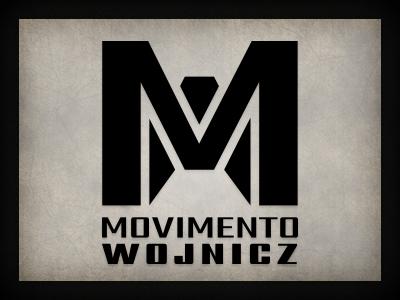 Movimento logo branding qchar design logo design