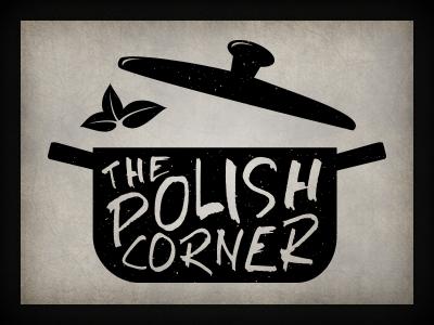 The Polish Corner logo branding qchar design logo design