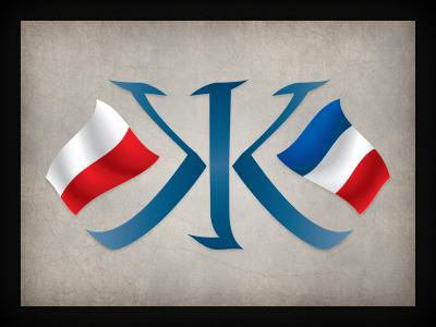 K Kaszkacha logo branding qchar design logo design