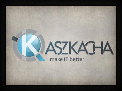 Kaszkacha logo branding qchar design logo design