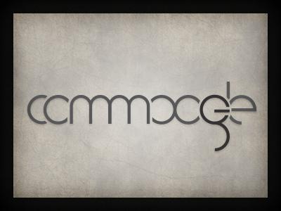 Commoogle logo branding qchar design logo design