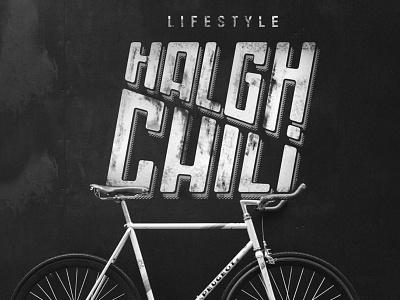 Halgh Chili - Logo hard rebel lifestyle brand dark harley davidson black branding vector illustrator identidade visual logo