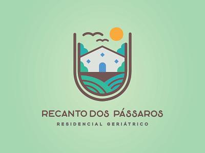 Recanto dos pássaros birds branding identidade visual logo design logo