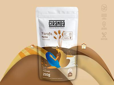 Ciranda packing naming food identidade visual logo
