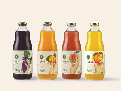 Sáfri orgânicos naming logo branding identidade visual