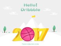 Hello,Dribbble !