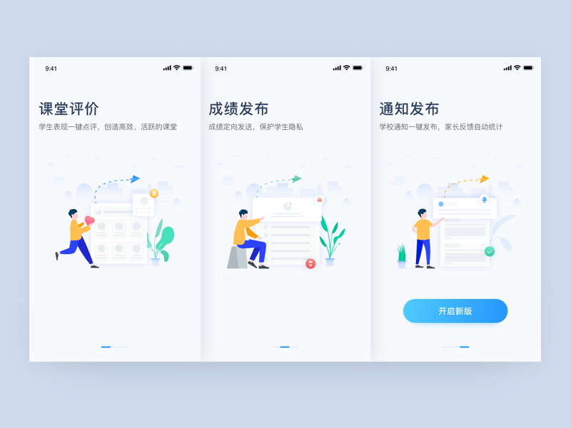 Guide Pages guide pages 插图 设计 ux 图标 ui