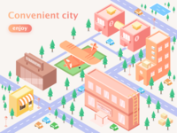 Convenient city