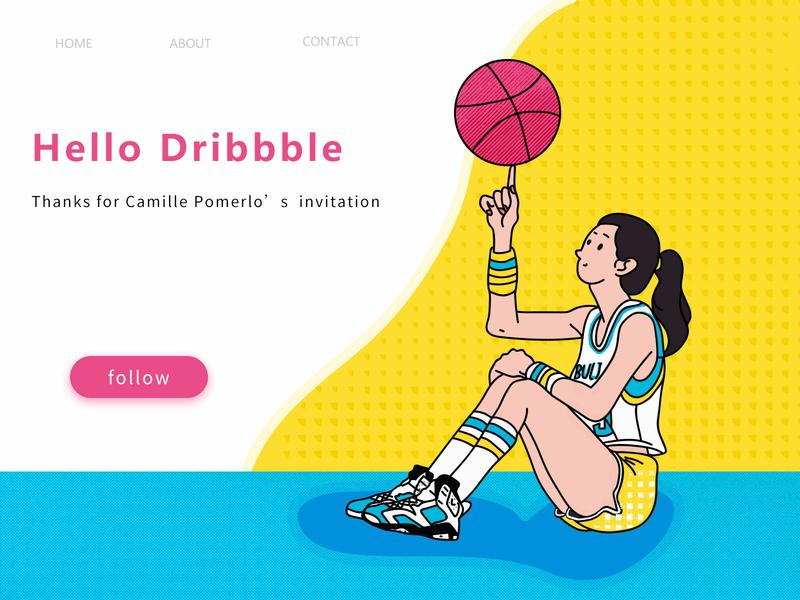New Shot - 01/14/2019 at 10:12 AM hello dribble illustration 设计 ui