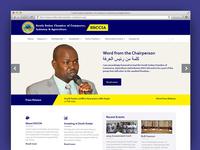 SSCCIA Website Redesign
