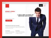 Bongo Afrika Landing Page