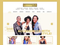 Accessorize with Style  Website Redesign