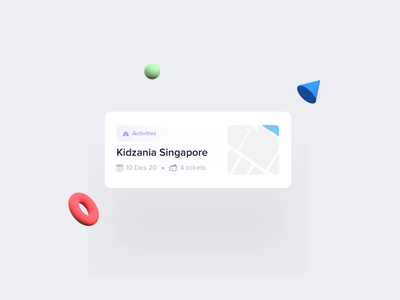 Review Card Component - Motion illustration apps dribbble clean website mobile dashboard interface smooth designtrends 2021 travel reviews