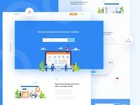 Wesitecoder Landing Page
