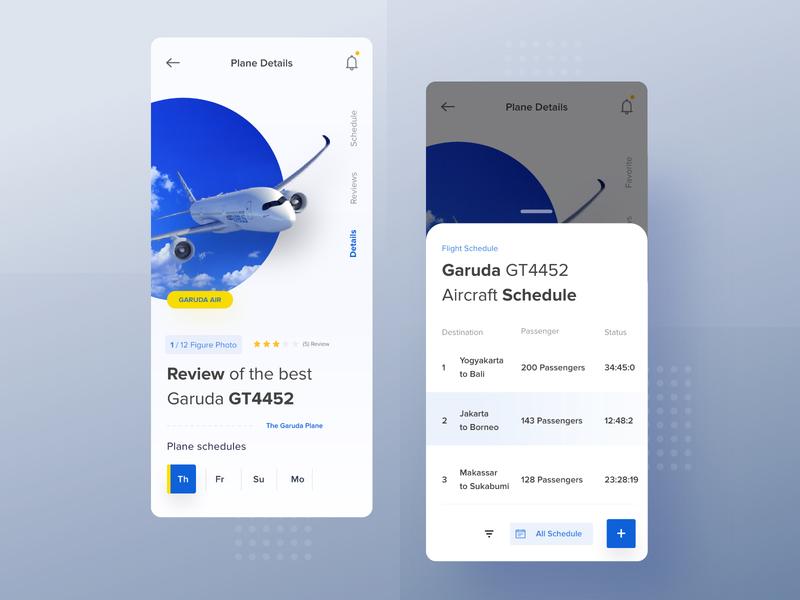 Flight Detail app branding typography ux logo website ui illustration desktop apps landing mobile dashboard smooth dribbble interface designer minimalist clean design