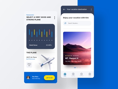 Vacation Trip page illustration landing apps desktop flight booking vacation tiket travel flight website dribbble mobile dashboard smooth interface designer clean minimalist design