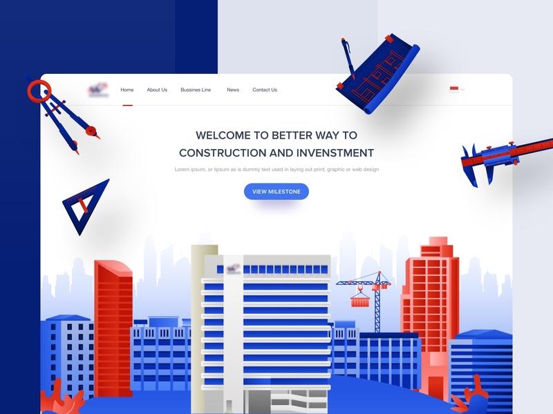 Waskita Karya website websites page web design desktop website builder webdesign website design apps website dribbble mobile dashboard interface designer clean smooth minimalist design