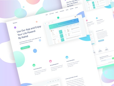 Landing Page Exploration (SaaS) #12 website saas