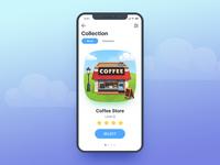 Coffee House Game UI App