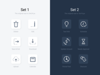 Financial Form Builder – Icon Set