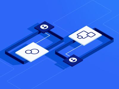 Defining Mobile Personalization personalization design web isometric blog mobile illustration