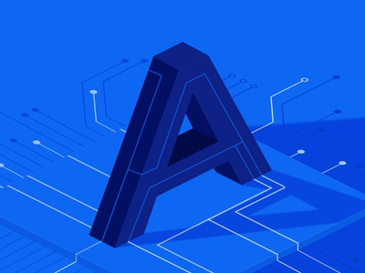 Digital Marketing Agency Report Article Agency Pain Points marketing blueprint isometric perspective blog design report agency letter illustration