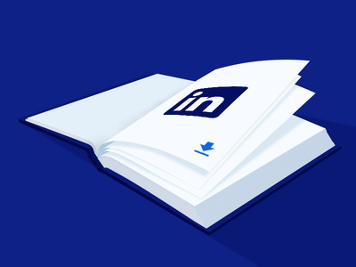 Directive Consulting Linkedin Ebook Case Study web case study web design ebook blog perspective design illustration