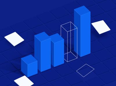 What is CRO vector graph blog design illustration