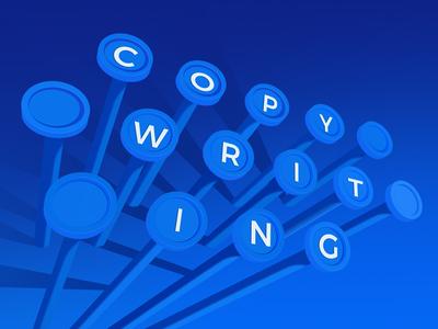 Web Copywriting letter copywriting copy marketing blog web perspective design illustration