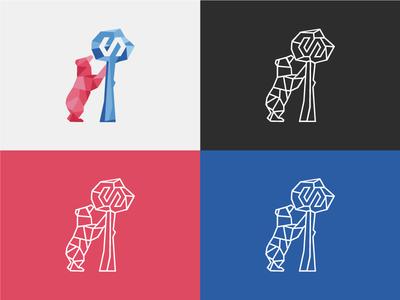 Madrid Polymer Day Logo Design madrid logo polymer