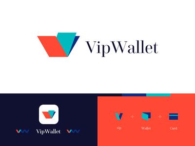 VipWallet-Logo Design