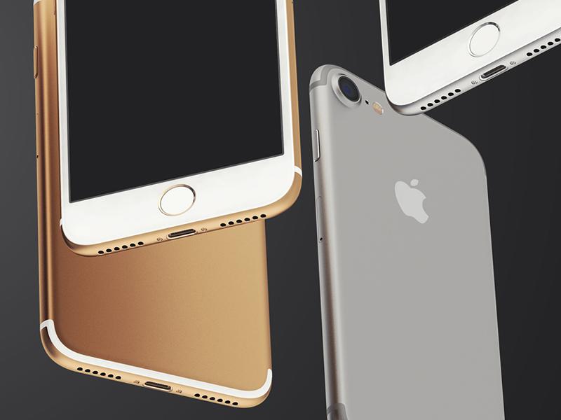 Free iPhone 7 UI Mockup PSD ui mockups mockup iphone7 iphone freepsd freebies freebie free apple