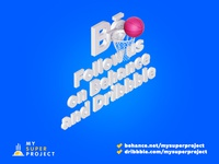 Follow us on Behance and Dribbble!