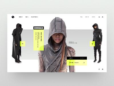 HeaderZ_06 design header landing minimal photoshop sketch ui ux web website