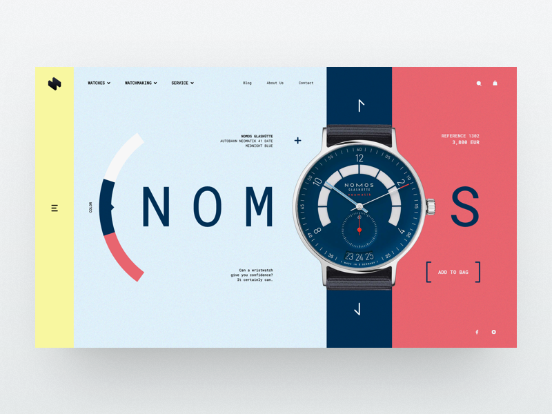 UI Inspiration: This week's selections from Slava Kornilov, Hristo Hristov and more
