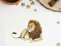 Leo - Astrology Illustration