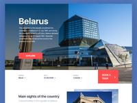 Belarus Landing Page