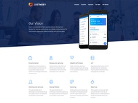 Web-site for JustMoby Company