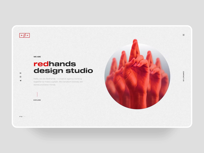 Home Page for design studio