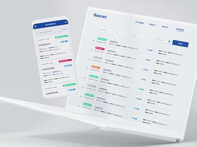 Bancard paraguay identity branding art direction responsive bold app design banking app ux ui mobile app fintech design system desktop app