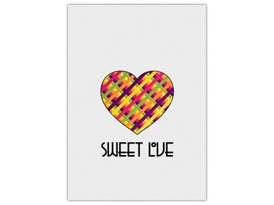 Sweet Love colors love heart sweet love
