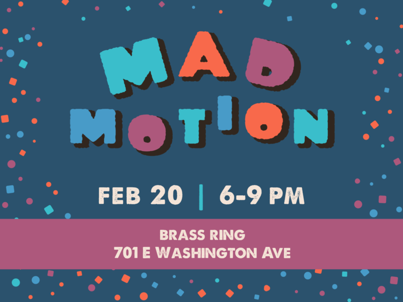 Mad Motion: Winter 2020 Meetup event community vfx motion graphics motion design mograph wisconsin madison meetup motion animation