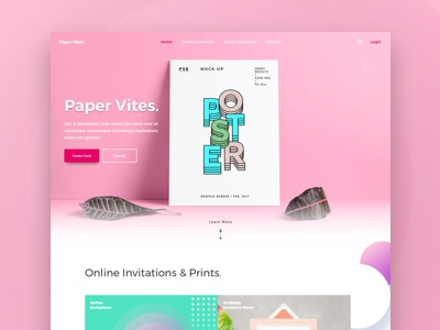 Paper Vite Landing Page